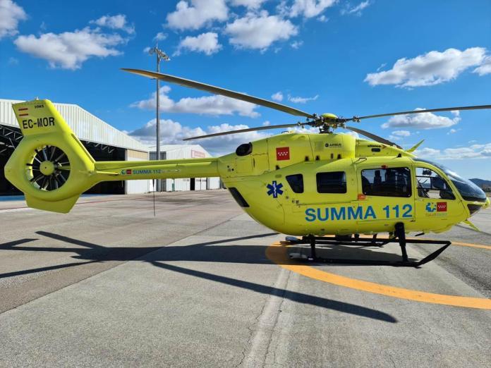 La Comunidad renueva los dos helicópteros del SUMMA 112 1