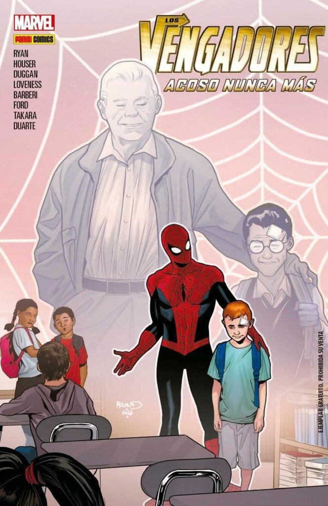 Un cómic de Marvel para concienciar contra el acoso escolar 1