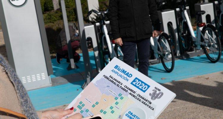 BiciMAD comenzará 2021 con 258 estaciones en 15 distritos 9