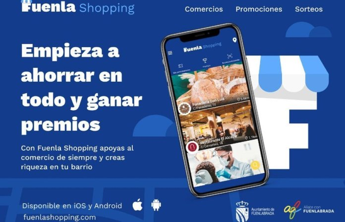 Fuenlabrada activa 'FuenlaShopping', una app que fomenta el comercio local 1