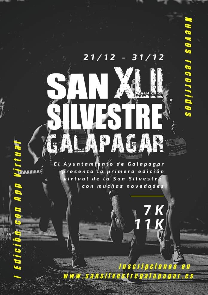 Galapagar celebrará una San Silvestre virtual con recorrido presencial 1