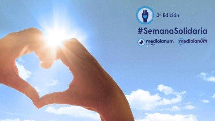 Banco Mediolanum activa su III Semana Solidaria con más de 60 iniciativas virtuales 1
