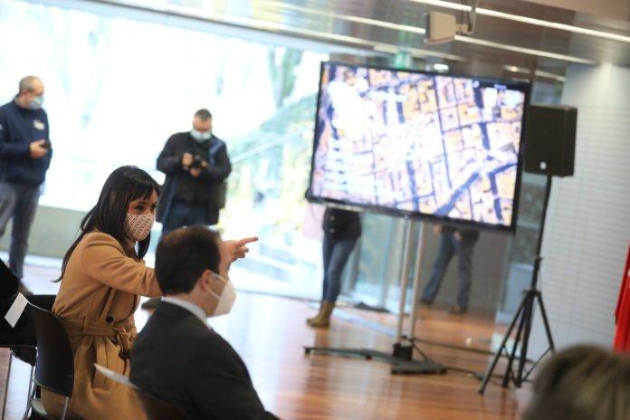 200.000 m2 de nuevas zonas peatonales: mapa de distribución por distritos 2