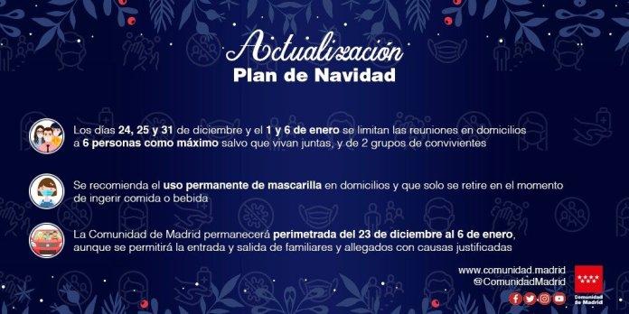 Madrid reduce el aforo de las cenas de Navidad: solo seis personas por mesa 2