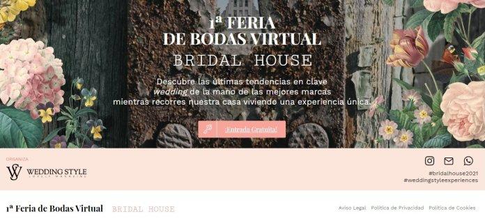 Bridal House, la primera feria de bodas virtual 4