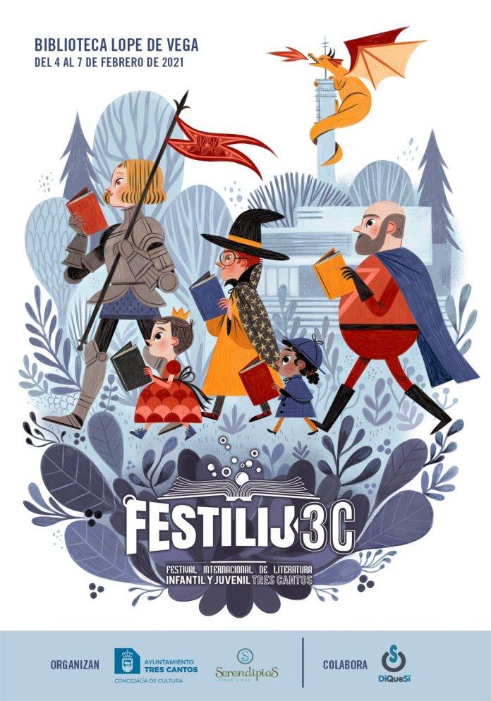 Tres Cantos acoge la IV edición del Festival de Literatura Infantil y Juvenil FestiLIJ3C 1
