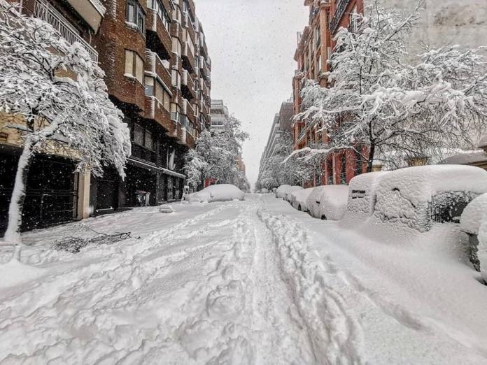 Las mejores estampas de un Madrid teñido de blanco 3