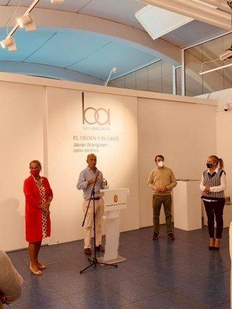 Prorrogada la exposición 'El orden y el caos' del artista Javier Aranguren 1