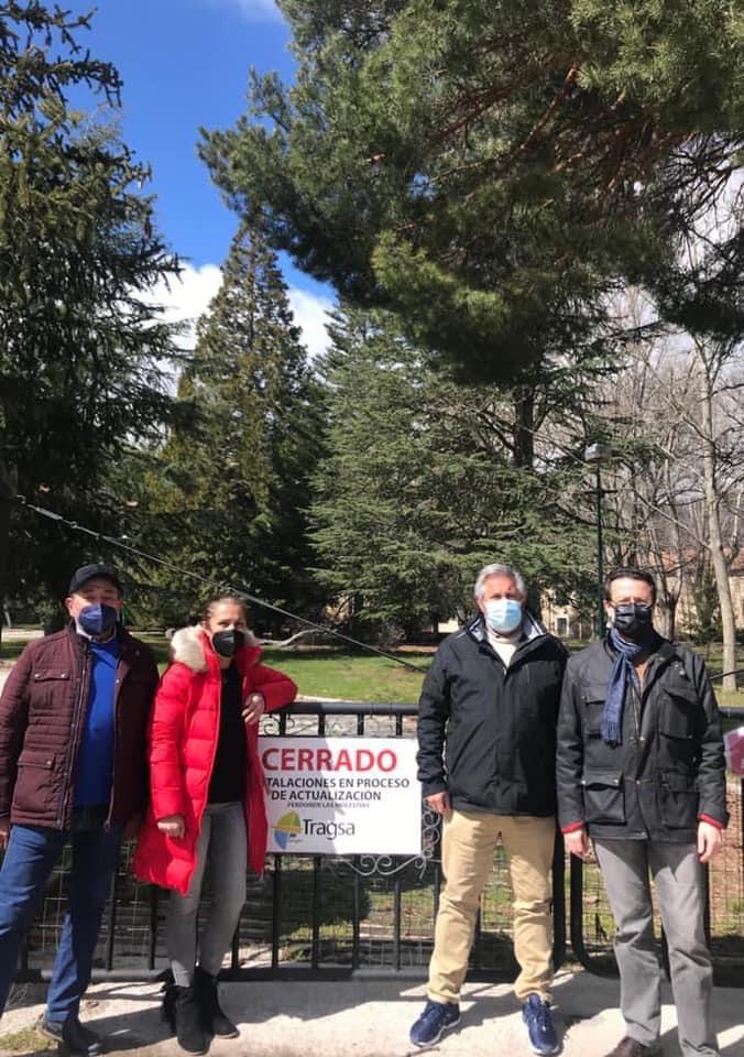 La Sierra Norte reivindica la reapertura del hotel de El Paular 1
