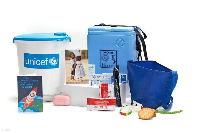 Envía cajas llenas de vida con Regalo Azul de UNICEF 5
