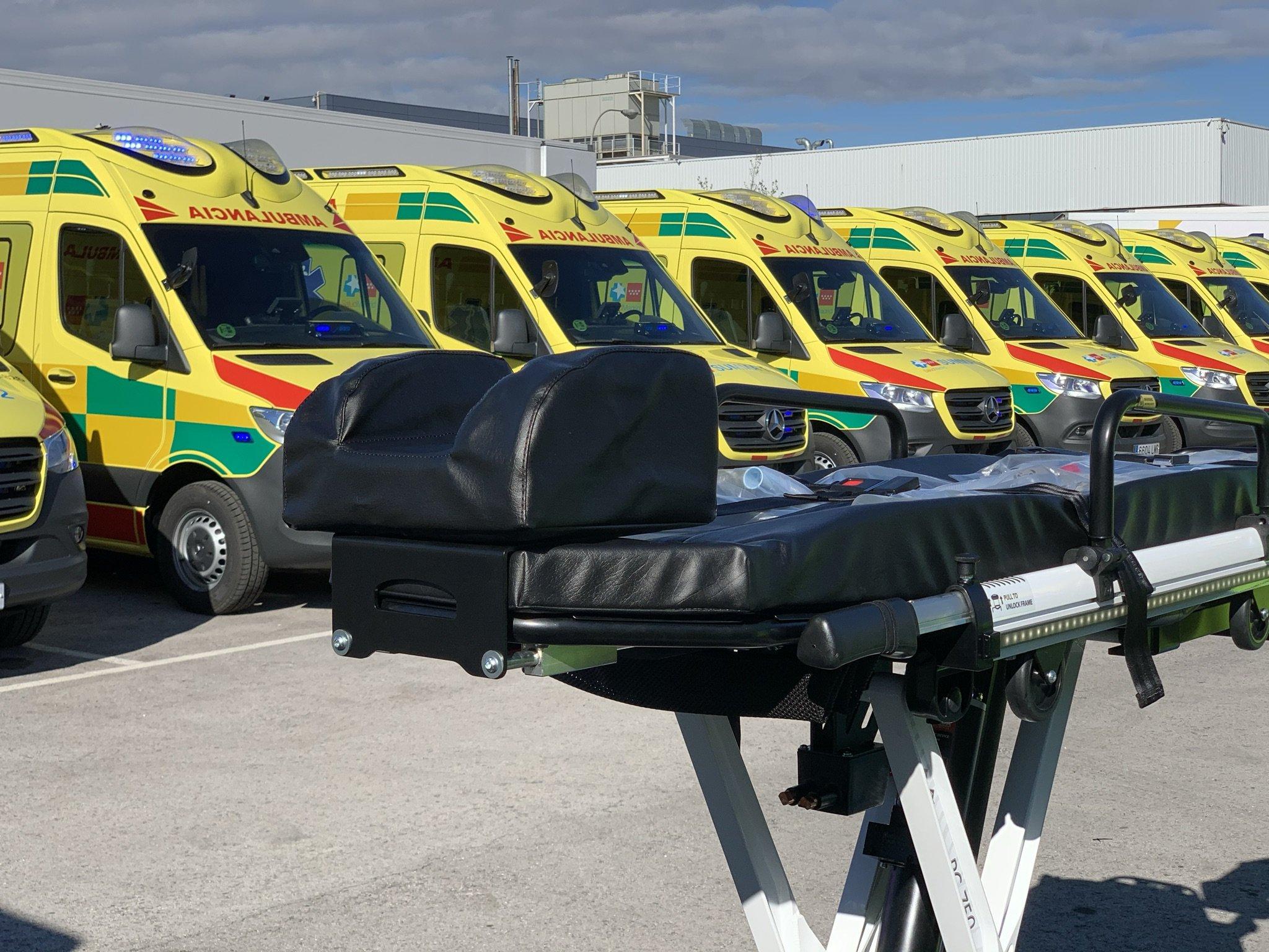 El SUMMA 112 renueva sus ambulancias de UVI móvil con alta tecnología 10