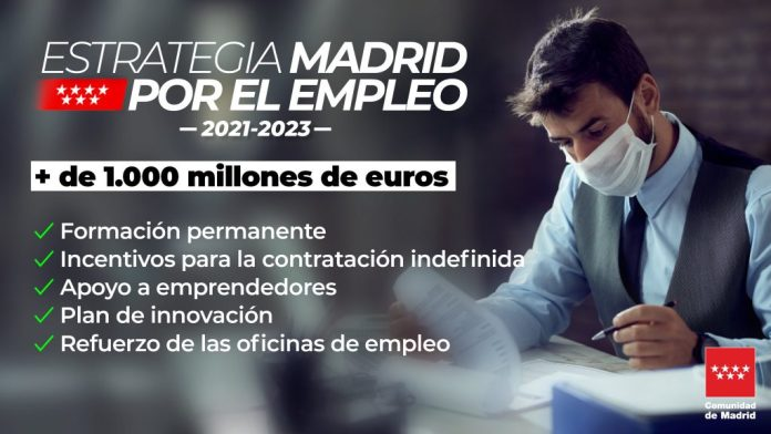 Madrid dota su estrategia de empleo con más de 1.000 millones 2