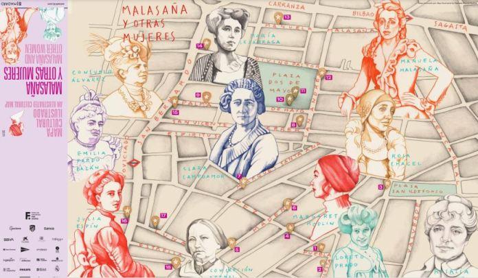 malasaña mapa cultural