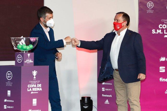 La RFEF celebra el sorteo de Copa de S.M. la Reina de fútbol 1
