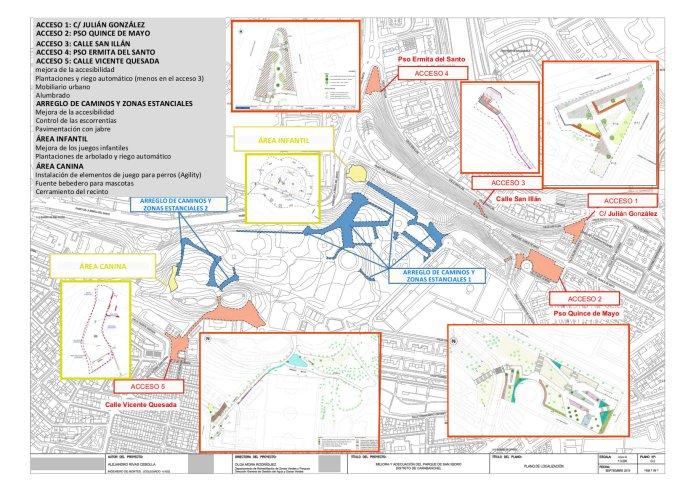 El Ayuntamiento rehabilitará el emblemático parque de San Isidro 1