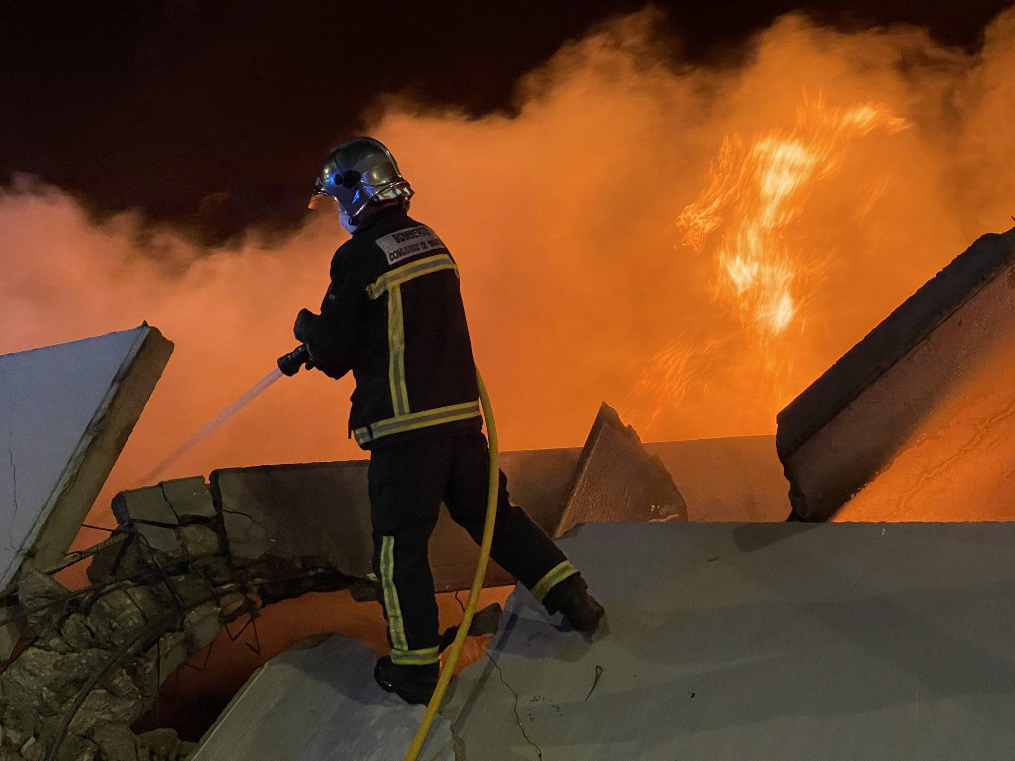 Bomberos de Toledo confirman que el incendio de Seseña está controlado 7