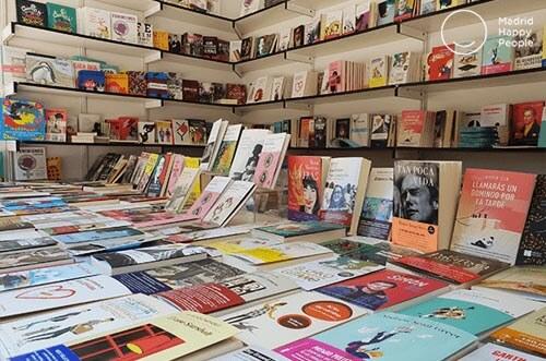 Actividades para celebrar el Día del Libro en Madrid 2