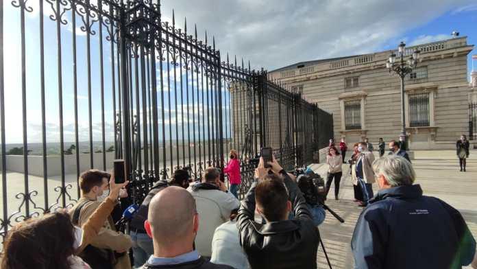 Así son las nuevas vistas privilegiadas desde el Palacio Real 1
