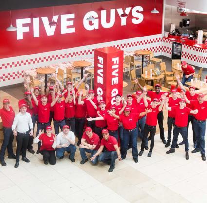 Five Guys abre un nuevo local en el CC La Vaguada 2