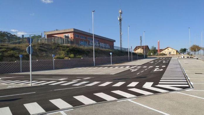 Fuencarral-El Pardo estrena el nuevo aparcamiento multimodal de Pitis 1