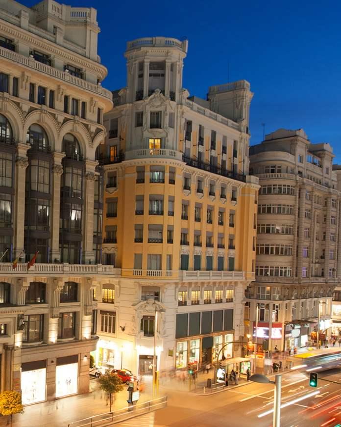 Así es el hotel de Cristiano Ronaldo en Gran Vía 1