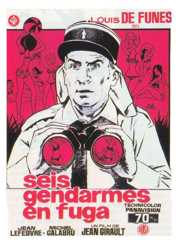 Julio y agosto de humor con 'El Gendarme' en 8madridTV 3