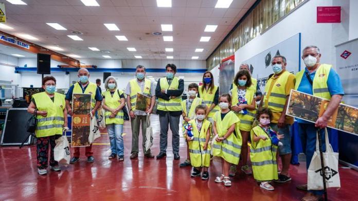 Metro de Madrid celebra el Día de los Abuelos 2