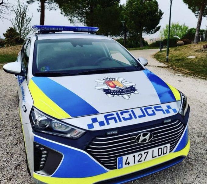 La Policía Local de Arroyomolinos inicia una campaña de control de velocidad 1