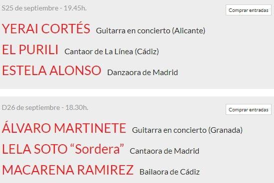 Suma Flamenca Joven en Teatros del Canal 2