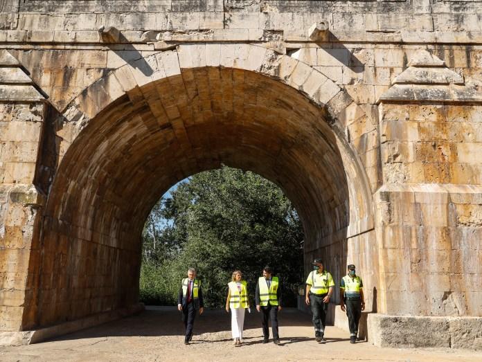 Reabiertos al tráfico los dos puentes que dan servicio a Aranjuez 2