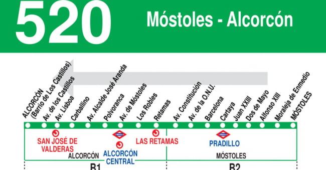 Móstoles modifica la ruta de sus autobuses por el nuevo Plan de Asfaltado 1