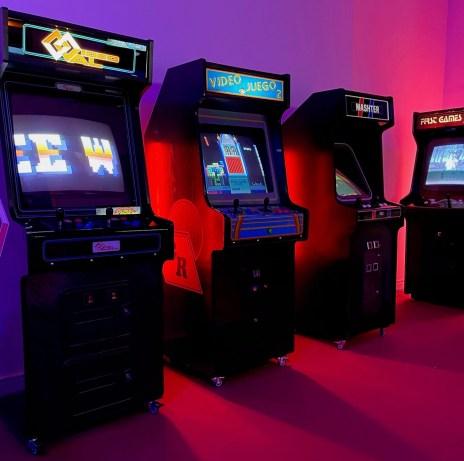 ABC Arcade, la exposición de videojuegos de los 80 1