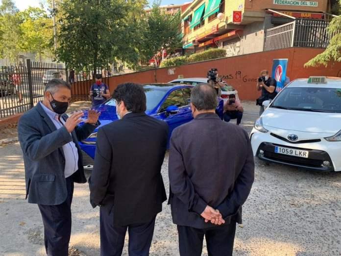 Los taxis de hidrógeno verde llegarán a Madrid en menos de un año 1
