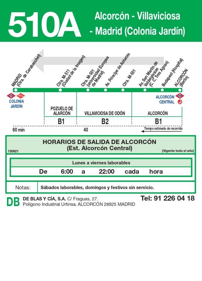 Villaviciosa de Odón inaugura su conexión con Colonia Jardín a través de su línea de autobuses 2