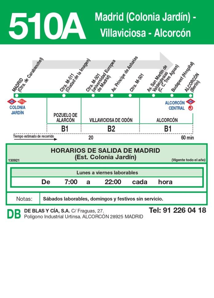 Villaviciosa de Odón inaugura su conexión con Colonia Jardín a través de su línea de autobuses 1