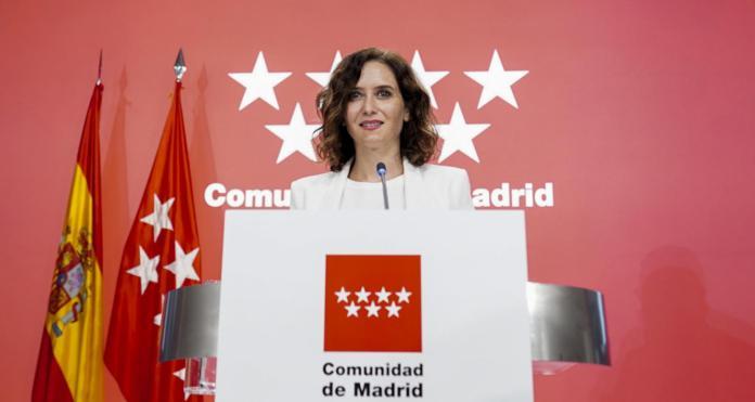Ayuso convierte a Madrid en la primera región sin impuestos propios 1