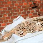 Aval de residuos de la construcción