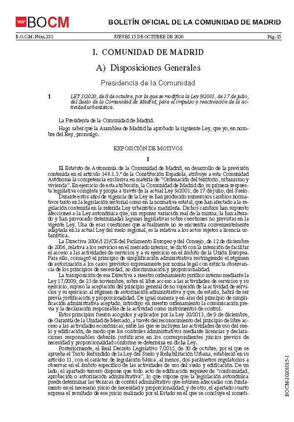 Modificacion Ley del Suelo 08102020