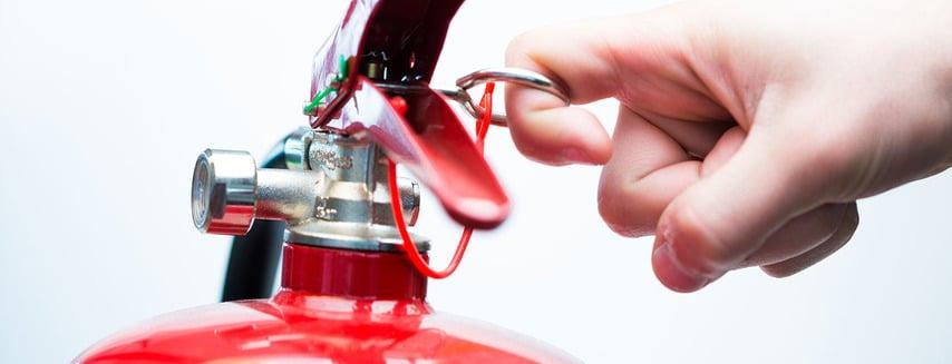 mantenimiento extintores licencia actividad
