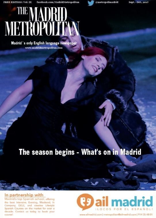 The Madrid Metropolitan: Sept. - Oct. 2017 Front Cover