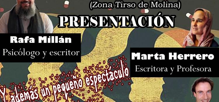 Presentación del libro en Madrid, Viernes 9 de Marzo