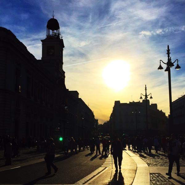 estudiantes en Madrid