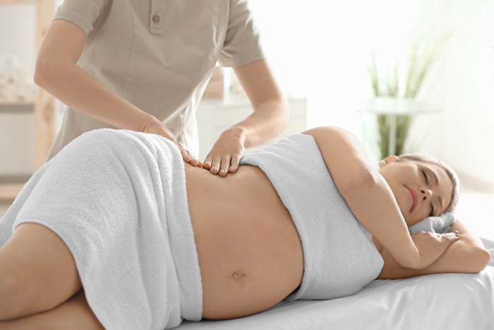 masaje embarazadas