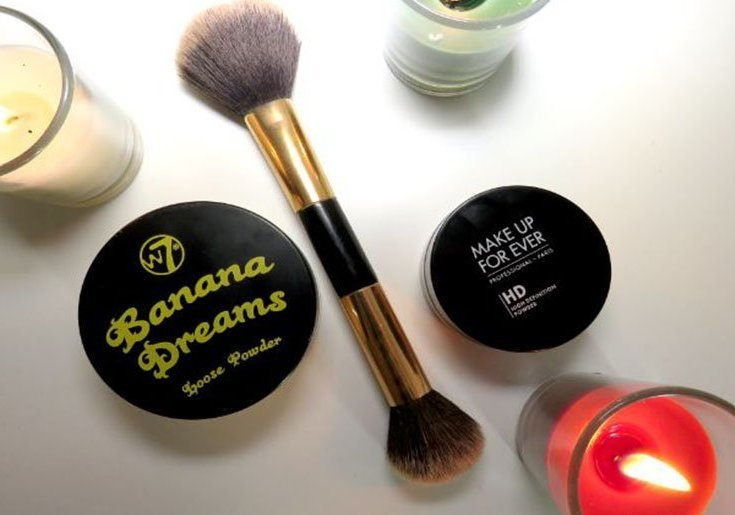 Banana dreams w7 polvos hd high definition make up for ever comparacion