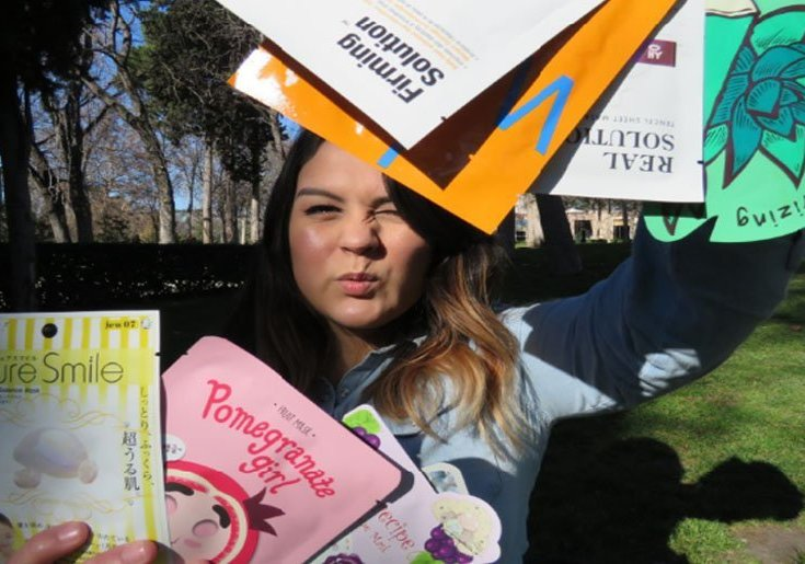 mascarillas coreanas reto de siete díasn korean beauty sheet masks madridvenek