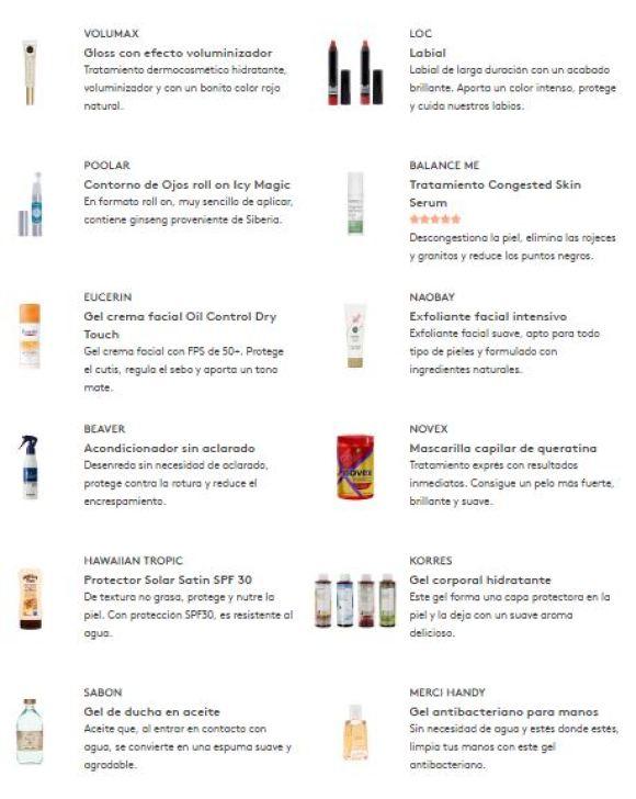 productos birchbox junio 2017 madridvenek