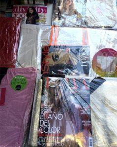 regalos revistas agosto 2017 telva marie claire harpers bazaar cosmopolitan glamour