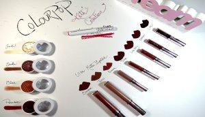 colourpop ultra matte lip lippie stix super shock eyeshadows todos mis productos colourpop madridvenek 2