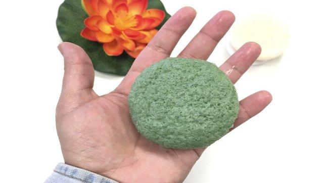 esponja konjac limpieza facial beauty challenge esponja konjac blanca esponja konjac verde 3