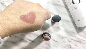 glo beauty lipstick pillow talk labial rosa 2